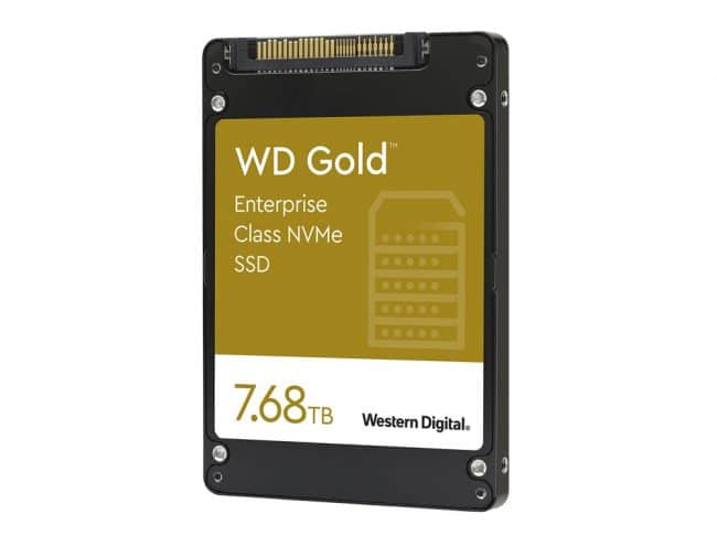 Western Digital WD Gold NVMe SSD