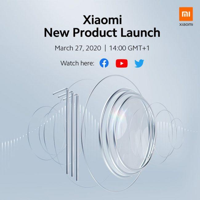 Lancement Xiaomi Mi 10 et Mi 10 Pro