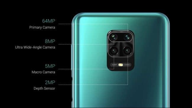 L'appareil photo du Redmi Note 9 Pro Max © Xiaomi