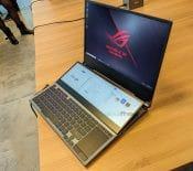Asus ROG Zephyrus Duo GX550 : les gamers gagnent un second écran