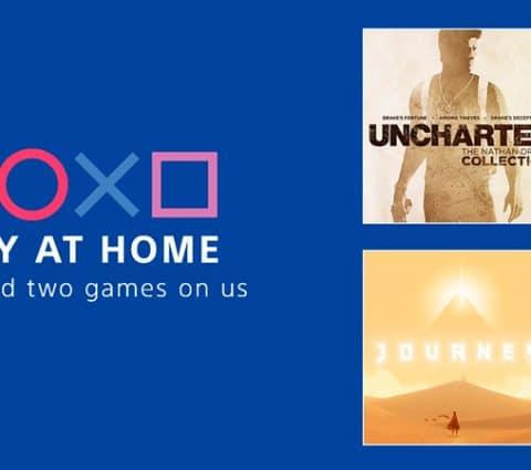 Confinement – Sony lance le programme Play at Home et offre deux (bons) jeux