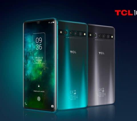 TCL 10 5G, 10 Pro et 10L : pour ses modèles les mieux équipés, TCL mise sur son propre nom