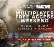 Week-end gratuit pour le multi de CoD Modern Warfare