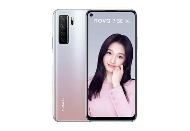 Huawei Nova 7 SE © Huawei