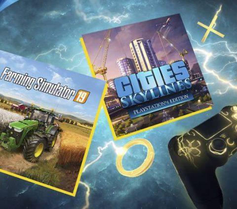 PlayStation Plus : les jeux gratuits du mois de mai dévoilés