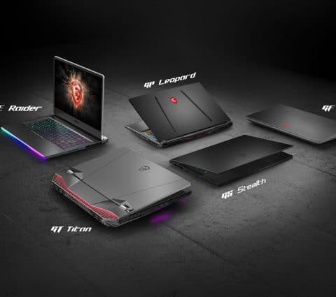 MSI renouvelle son offre gaming et passe à 300 Hz pour l'écran des GS66, GS75 et GE66