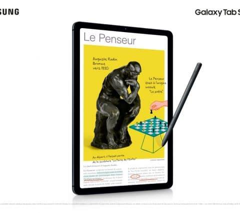 Samsung Galaxy Tab S6 Lite : une tablette milieu de gamme avec stylet fourni