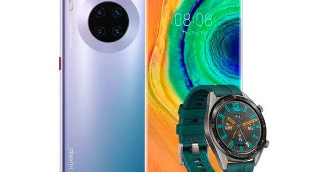Bon plan – Le Huawei Mate 30 Pro + la Watch GT à 699 euros
