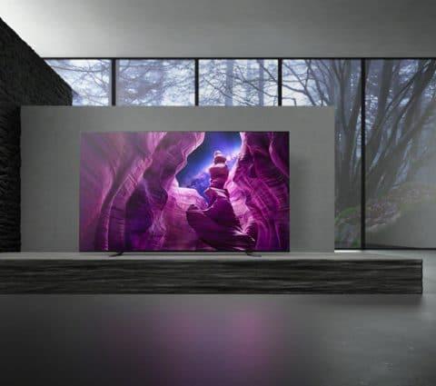 Sony KD-55A8 et KD-65A8 : les nouveaux TV OLED arrivent