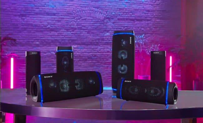 Sony SRS-XB33 et SRS-XB43