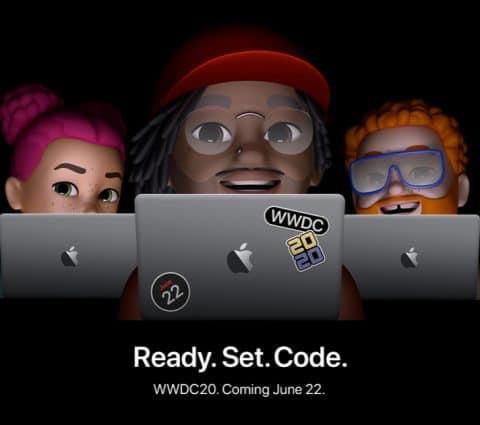 WWDC 2020 : coup d'envoi le 22 juin pour la première édition exclusivement en ligne