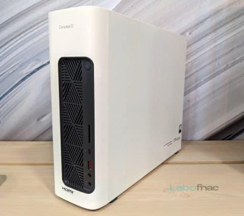 Acer ConceptD 100 et 3 Ezel : une tour compacte et un PC portable aux allures de tablette graphique