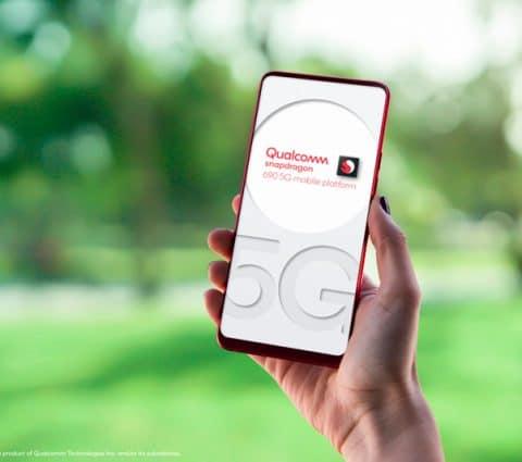 Qualcomm Snapdragon 690 : la puce 5G pour des smartphones abordables avec écran 120 Hz