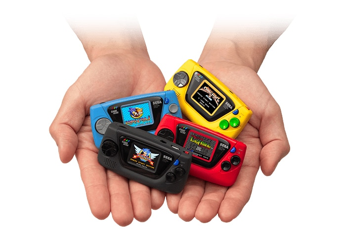 Sega Game Gear Micro : une (très très) petite console pour les 60 ...
