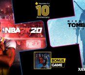 Jeux gratuits de juillet 2020 avec PlayStation Plus