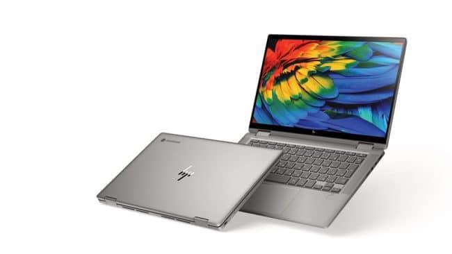 Le Chromebook x360 14c © HP