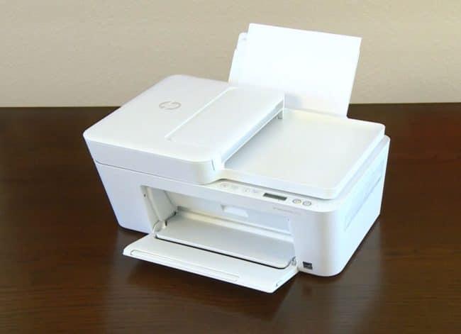 La DeskJet Plus 4100 © Capture d'écran/HP