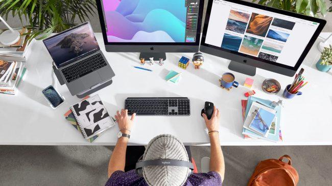 Logitech MX Master 3 et Keys pour Mac