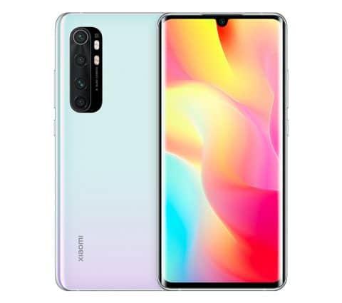 Soldes d'hiver 2021 – Le Xiaomi Mi Note 10 Lite à 279 € au lieu de 379 €