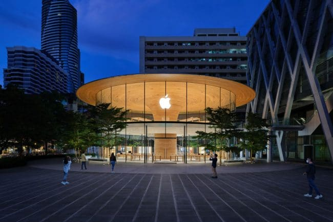 Apple Central World (Thaïlande) © Apple