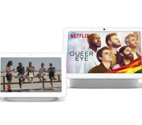 Netflix se fait une place sur les Google Nest Hub et Nest Hub Max