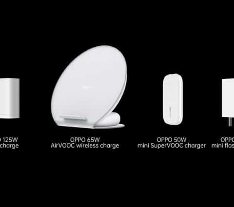 Oppo présente un chargeur 125 W et promet une charge sans fil 65 W
