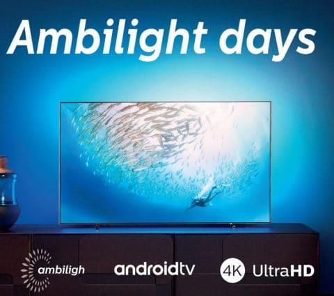 Bon plan – Philips rembourse jusqu'à 300 euros pour l'achat d'un TV Ambilight