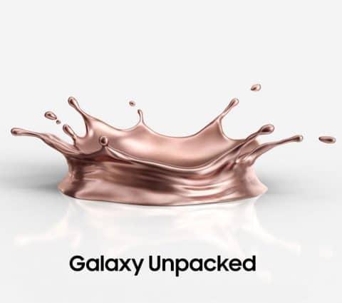 Galaxy Unpacked 2020 : Samsung présentera cinq nouveaux appareils