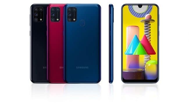Le Galaxy M31 © Samsung