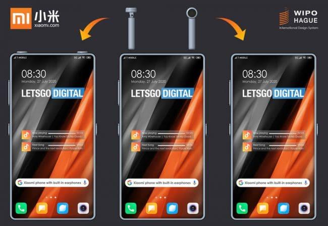 Xiaomi smartphone avec écouteurs intégrés