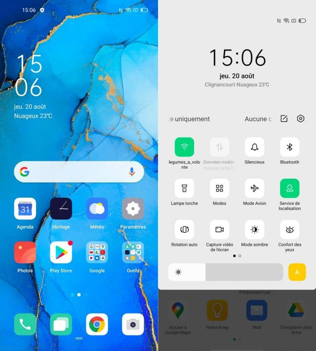 Oppo Find X2 Neo interface