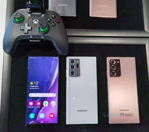 Galaxy Note 20 et Note 20 Ultra : les nouveaux fleurons de Samsung sont là