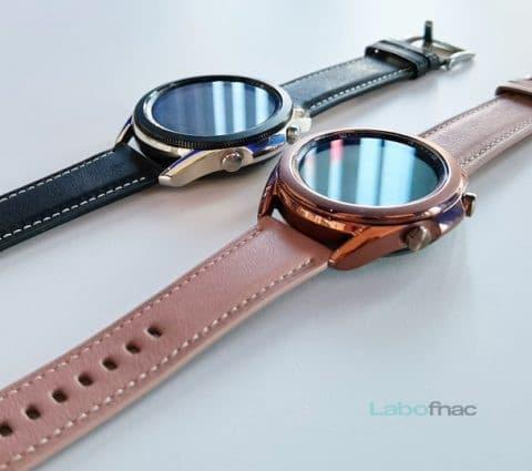 Samsung Galaxy Watch 3 : santé et sport à l'honneur
