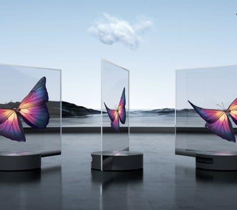Mi TV LUX : Xiaomi dévoile un téléviseur OLED transparent