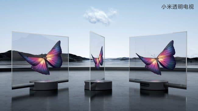 Xiaomi Mi TV LUX OLED Transparent Edition