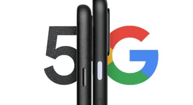 Google Pixel 4a (5G) et Pixel 5