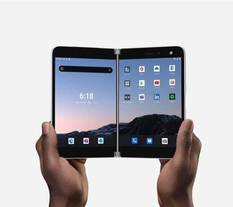 Microsoft songerait à un Surface Duo 5G avec un appareil photo amélioré