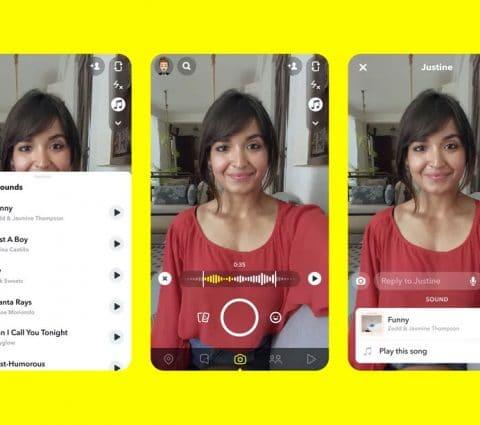 Snapchat va se doter d'une fonction musicale pour contrer TikTok