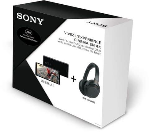 Bon Plan – Le pack Sony Xperia 1 + casque WH-1000XM3 est à 799 euros