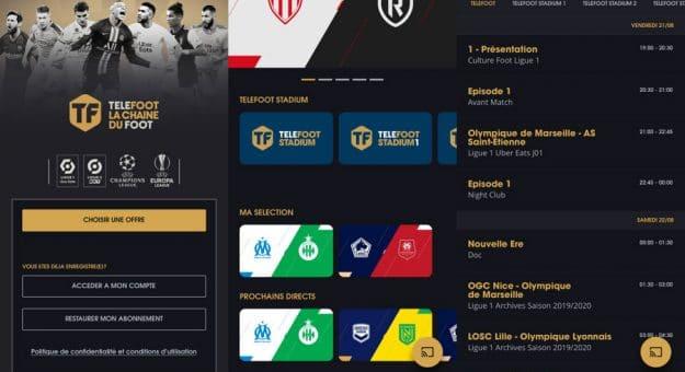 Android, iOS, Smart TV… : le point sur l'application Téléfoot [MàJ]