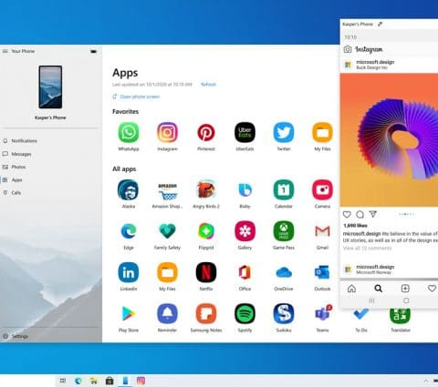 Microsoft va permettre d'accéder aux applications Android sur Windows 10