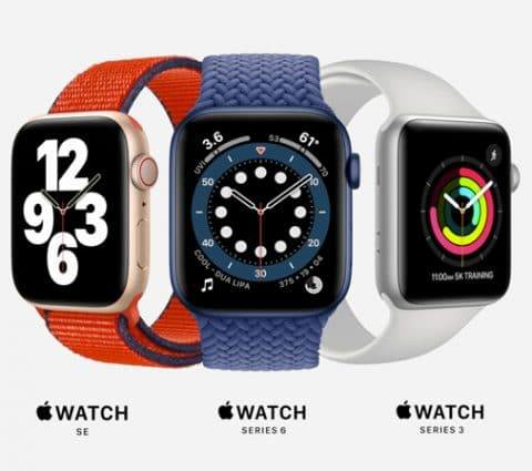 Apple annonce la Watch Series 6 et enrichit sa gamme d'une Watch SE plus abordable