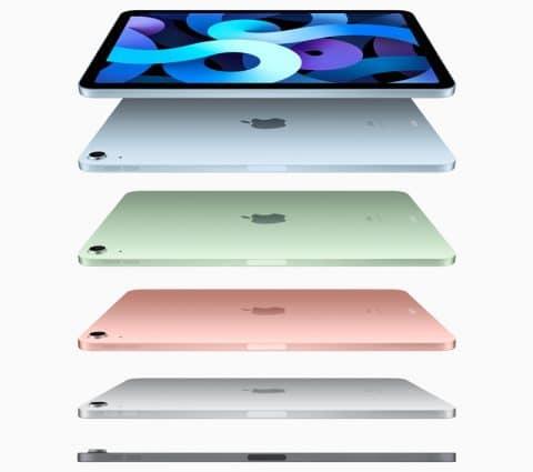 L'iPad d'Apple s'offre une 8e génération et l'iPad Air… une puce A14 Bionic et un port USB-C