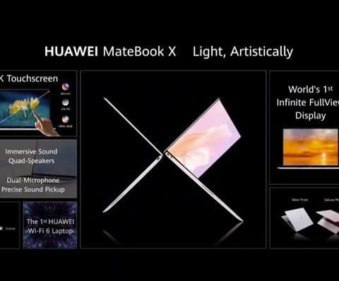 MateBook X et MateBook 14 2020 (AMD) : Huawei étoffe encore sa gamme de PC ultraportables