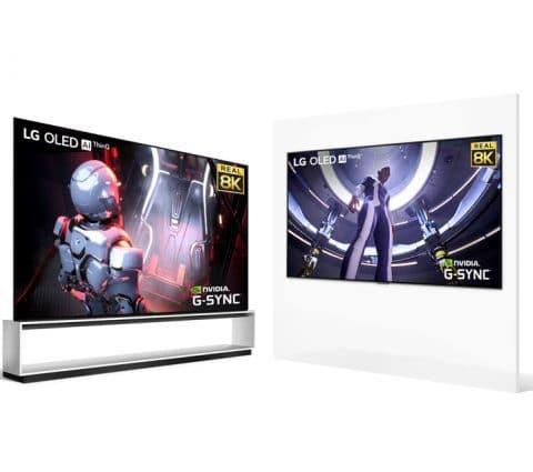 IFA 2020 – LG rend ses téléviseurs OLED 8K compatibles avec les GeForce RTX 3000