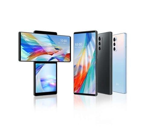 LG Wing : le smartphone à double écran rotatif est officiel
