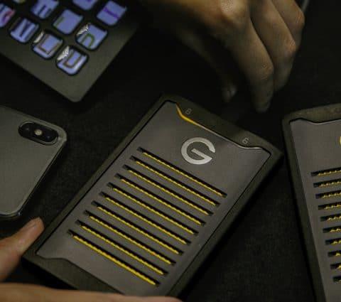 G-Technology ArmorLock : un SSD NVMe mobile chiffré, et à déverrouiller avec un smartphone