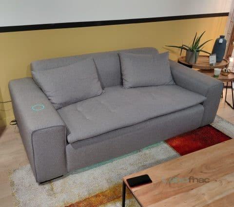 Le canapé connecté de Miliboo arrive à la Fnac