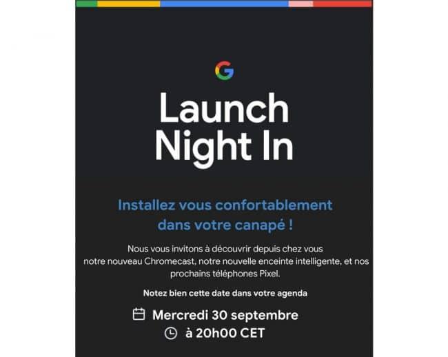 Google conférence 30 septembre 2020
