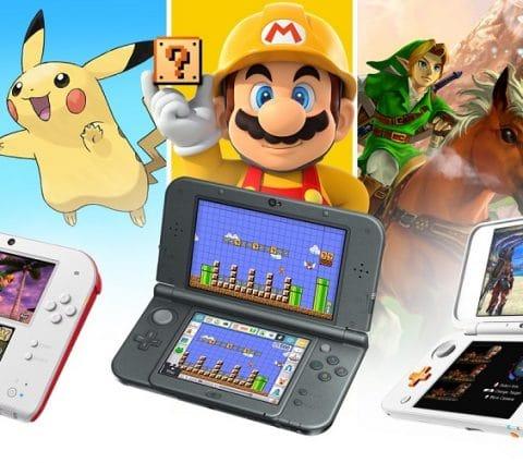 Nintendo annonce l'arrêt de la production des consoles Nintendo 3DS